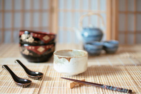 set of high quality Japanese style table wares