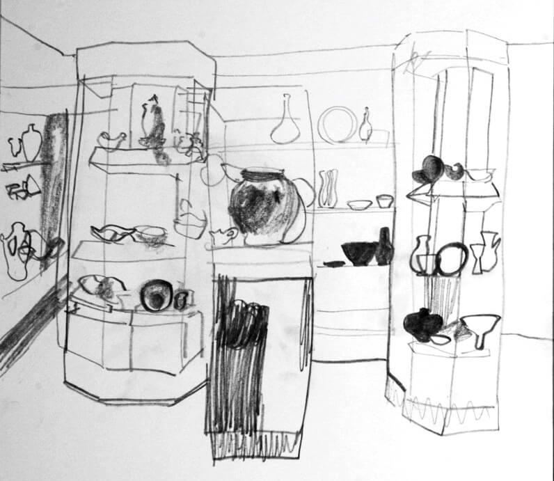 event image for Ways of Seeing – Drawings by Chloe Regan