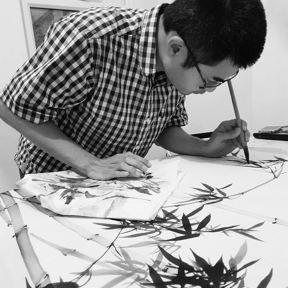 event image for Chinese Ink Painting: Fundraising for a New Beginning